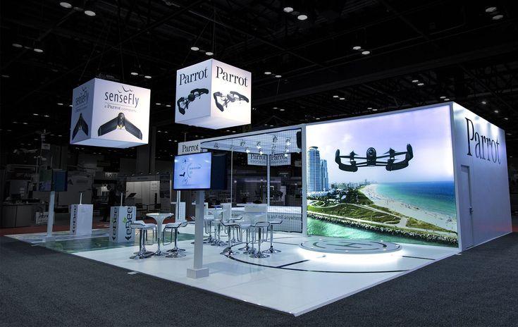 Fantastic exhibition Booth build in Las Vegas 2014
