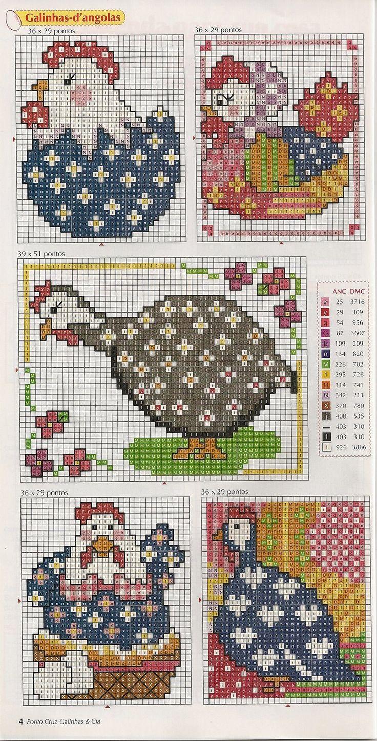 Cross stitch: kitchen