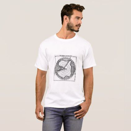 Roald Amundsen's Path to the South Pole T-Shirt  $19.20  by knockoutpoetry  - cyo diy customize personalize unique