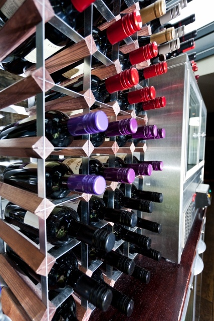 The Bar's wide range of Wine, Champagne etc..