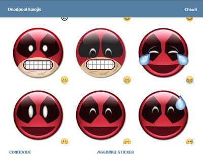 Telegram Stickers: Deadpool