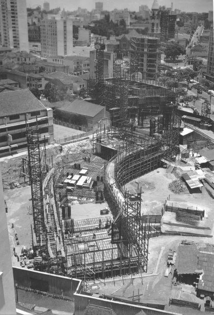 Copan em construção.