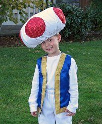 Terrific Toad Character Costume | AllFreeHolidayCrafts.com
