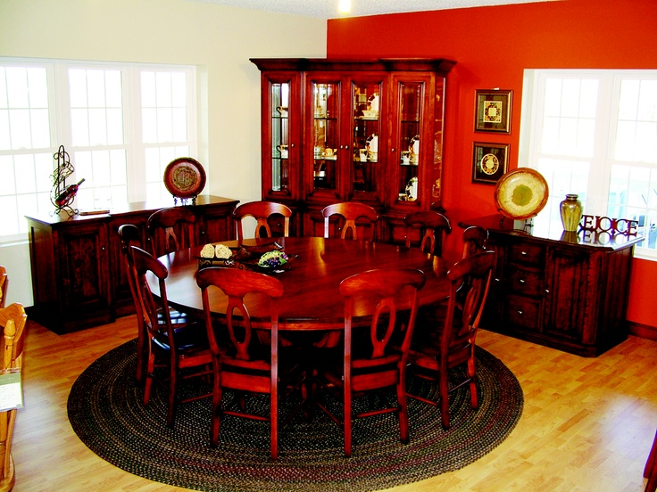 Amazing Beautiful Dining Room Design From Green Acres Furniture In Mt. Eaton, Ohio.  Just