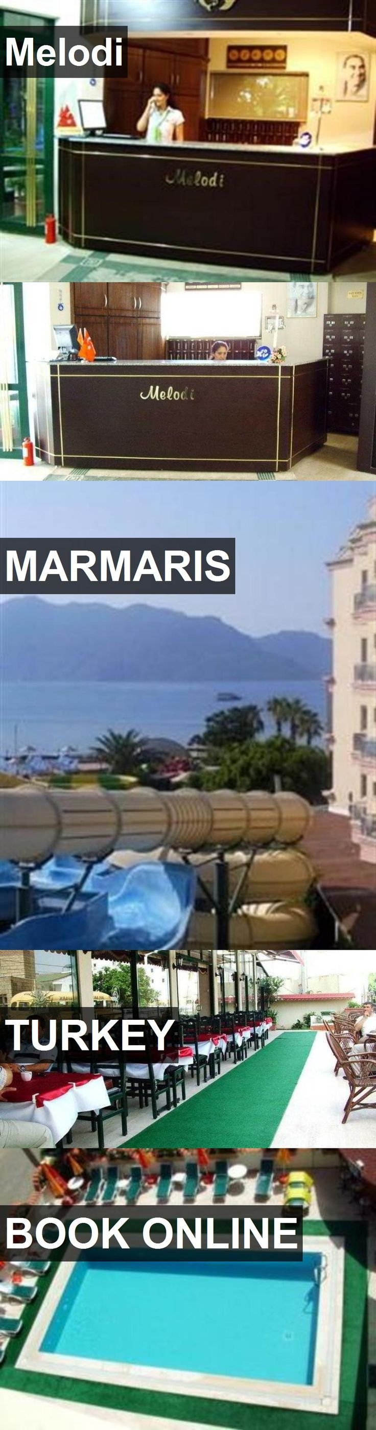 Hotel Melodi in Marmaris, Turkey. For more information, photos, reviews and best prices please follow the link. #Turkey #Marmaris #hotel #travel #vacation