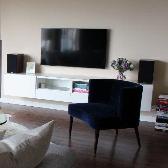 How to Transform an Ikea Cabinet Into a Chic Media Console: Do a quick online search for media consoles and it seems like you can't find anything stylish for less than $1,000.