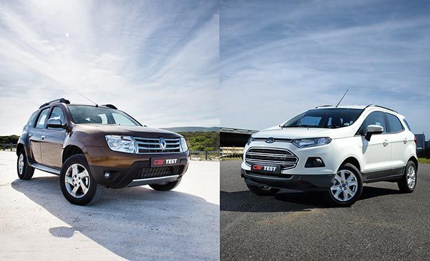 Comparative Test: Ford EcoSport vs Renault Duster - CARmag.co.za. To be honest - We are of the opinion they in 2 different segments. Rather the Pug 2008 to compare.
