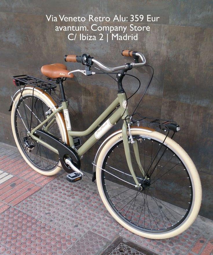 tienda de bicicletas en Madrid de bicicletas urbanas bicicletas clasicas  avantum Company Store bicicletas plegables y accesorios cascos urbanos  alforjas