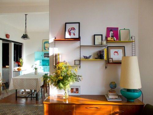 La jolie meulière: L'avant/après du salon