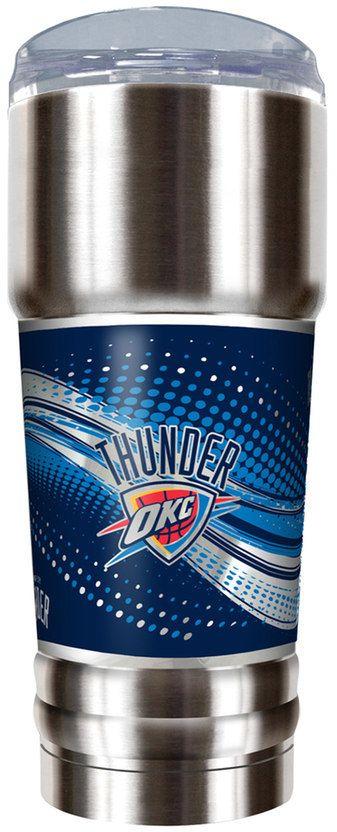 NBA Oklahoma City Thunder 32-Ounce Pro Stainless Steel Tumbler