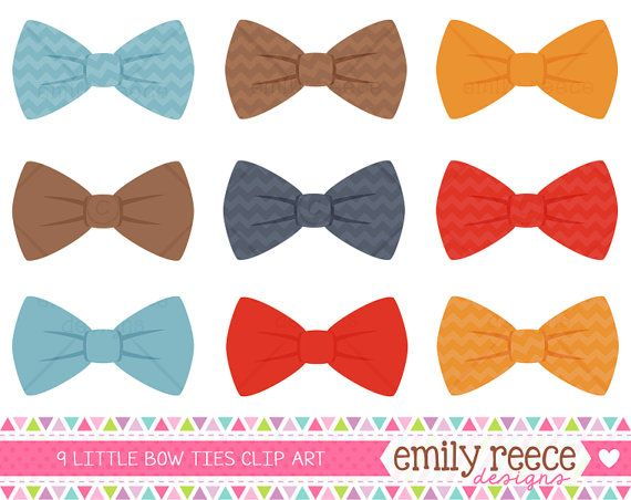 50 OFF  Boy Bow Ties Blue Red Brown Chevron by EmilyReeceDesigns, $1.50