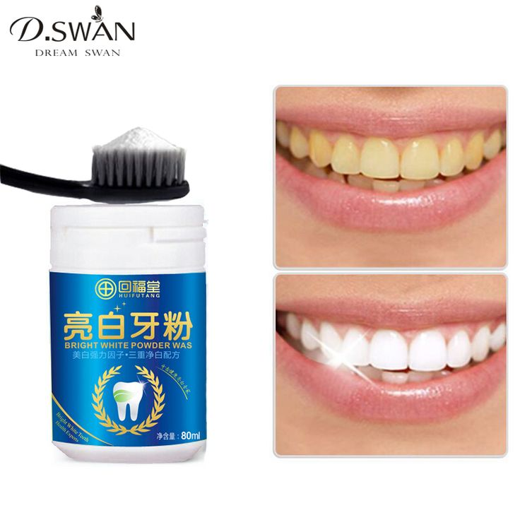 Magic Natural Pearl Tooth Brushing Powder Physical Teeth Whitener Detoxifying & Whitening Oralh Dental Oral Hygiene 80g