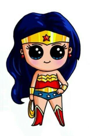 Wonder Woman By:Draw so cute