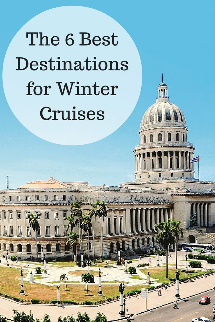 Find out where should you be sailing off to this winter
