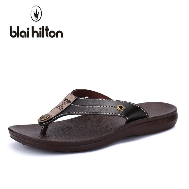 Blaibilton 2018 Summer Casual Slippers Men Shoes Flip Flops Sewing Outdoor Beach Slipper Male Designer High quality SDF92. Yesterday's price: US $9.66 (8.01 EUR). Today's price: US $9.66 (8.01 EUR). Discount: 80%.