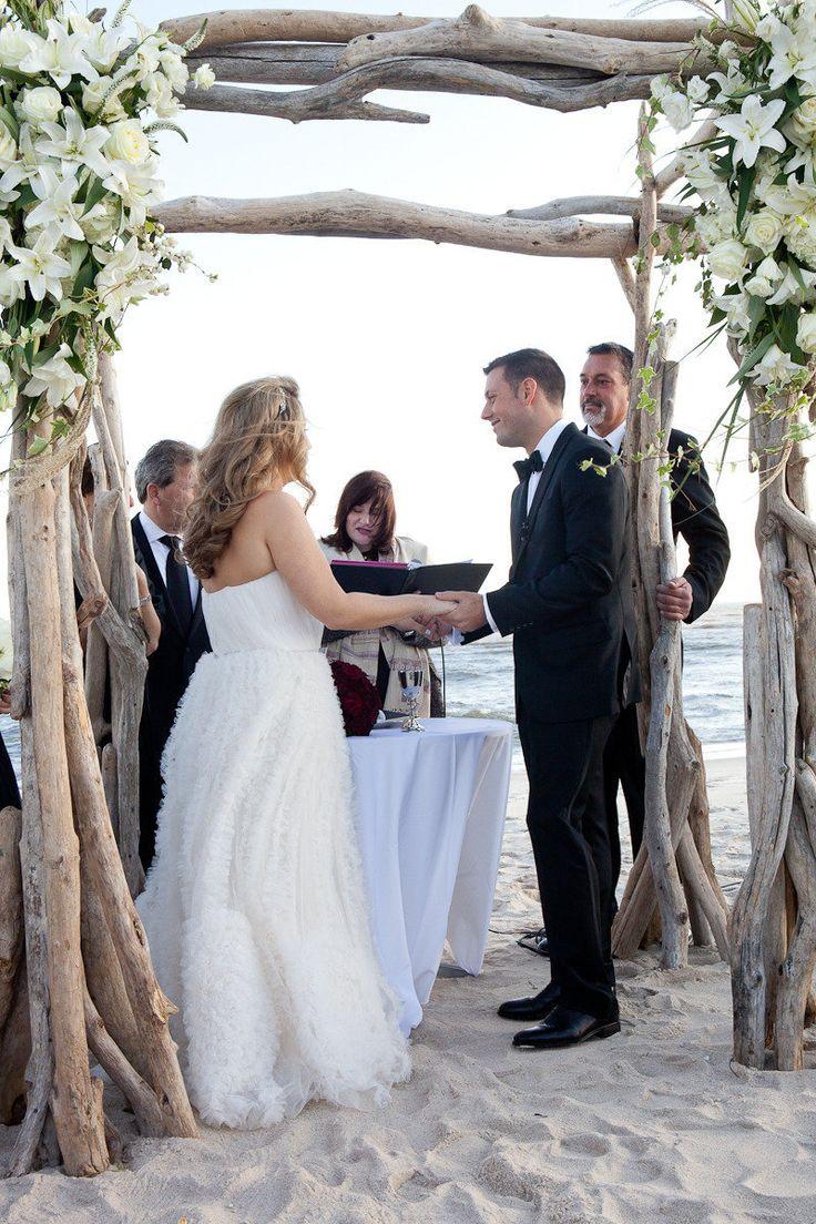 small beach wedding ceremony ideas%0A Oceanbleu Wedding by Jason Walz Photography