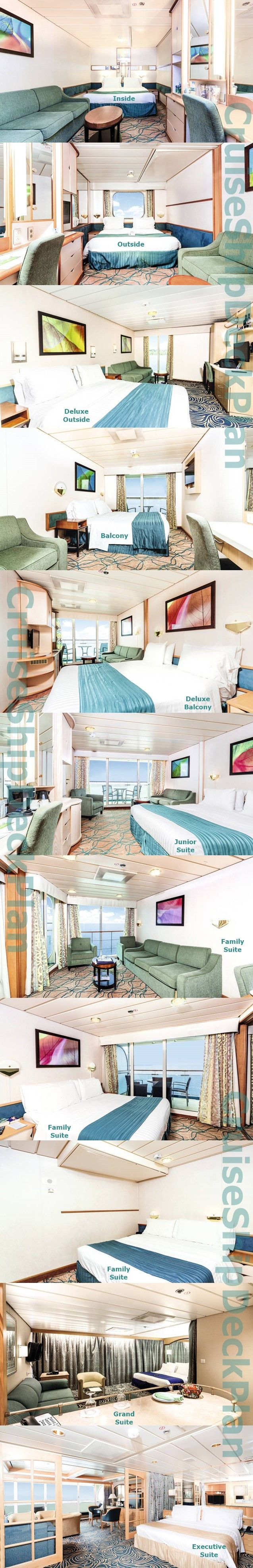 Thomson TUI Discovery cabins and suites photos (combo)