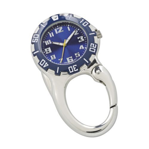 Shop Silver Tone Carabiner Watch Men Blue online at lowest price in india and purchase various collections of Dress Watches in Unknown brand at grabmore.in the best online shopping store in india