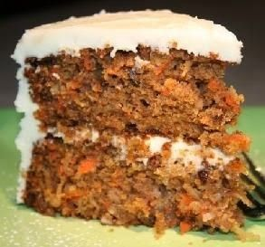 Grand Marnier Carrot Cake | Delicious nuances of bright orange flavor grace this wonderfully moist carrot cake