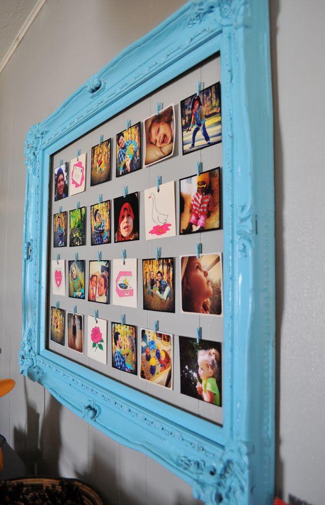 Painel de fotos para decorar e matar a saudade