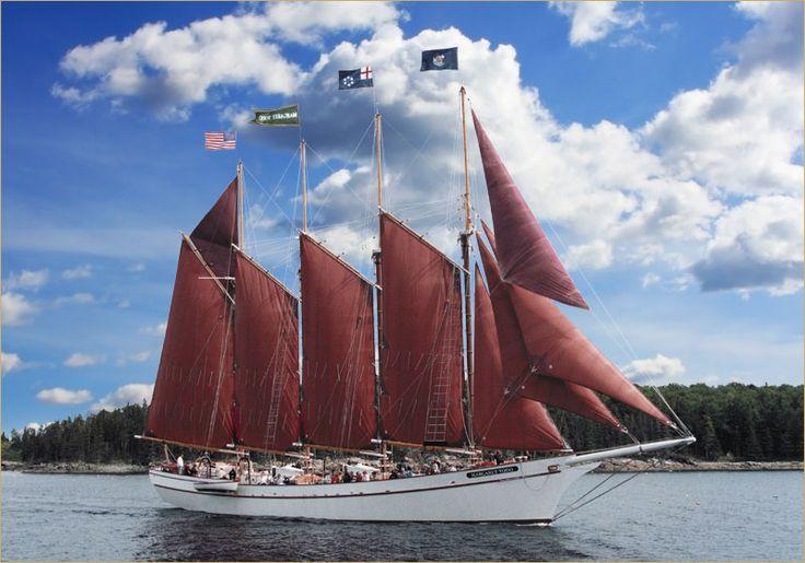 Downeast Windjammer Cruise