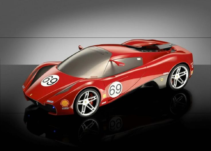 2005 Ferrari Design Competition F Zero 2 Automotive
