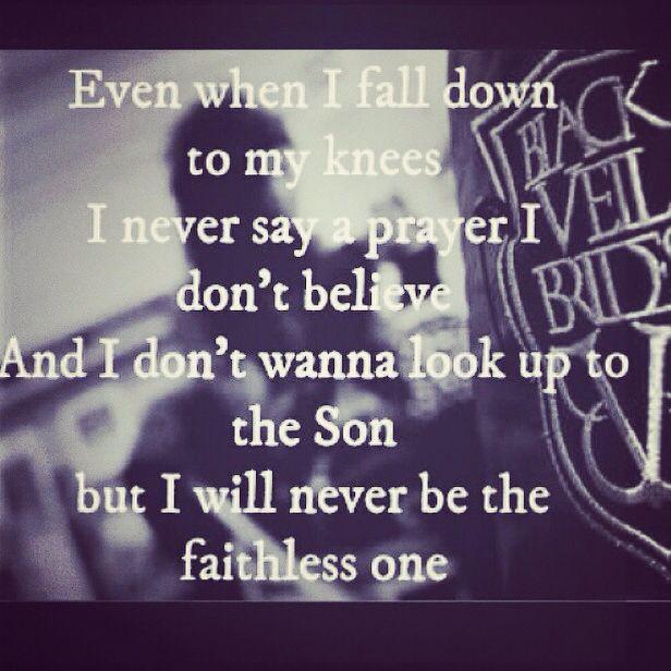 faithless lyrics