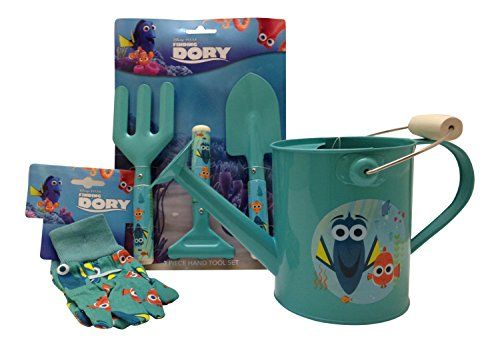DisneyPixar FInding Dory Childrens Gardening Tool Set *** You can get more details by clicking on the image.