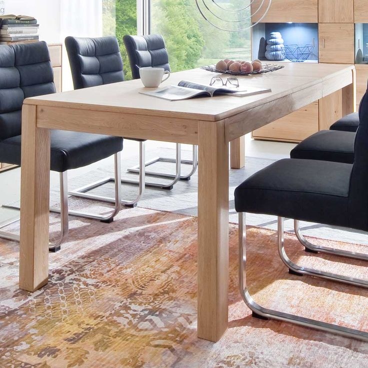 25 best ideas about esstisch eiche ausziehbar on. Black Bedroom Furniture Sets. Home Design Ideas