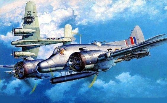 1944 Bristol Beaufighter TF.Mk.X 254 Sqn- Shigeo Koike ~ BFD