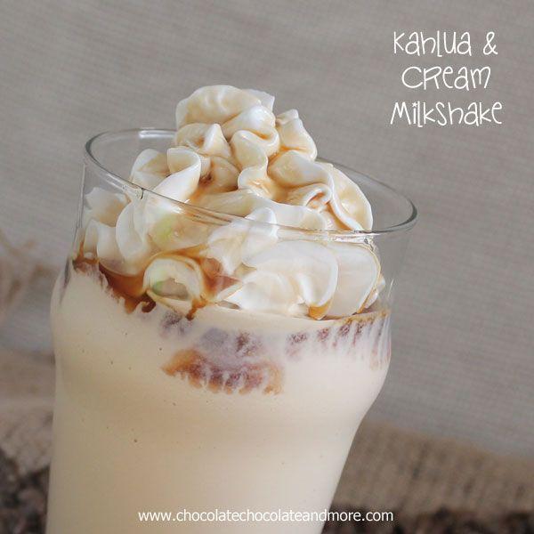 Kahlua and Cream Milkshake - Chocolate Chocolate and More!
