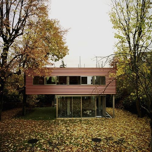 Villa Dall'ava, designed by OMA 1991, Saint-Cloud (on the outskirts of Paris)