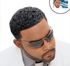 Black Men Mohawks | Mohawk Haircuts For Black Men With Texterizer Wallpaper Image