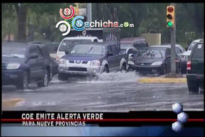 Alerta Para 9 Provincias Por Lluvia #Video