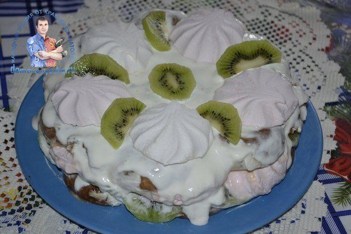 Торт без выпечки. Как приготовить торт из пряников со ...