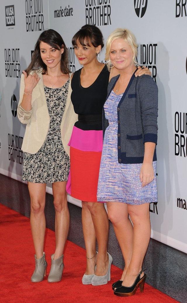 Rashida Jones, Amy Poehler and Aubrey Plaza from Parks and Rec my fav tv show