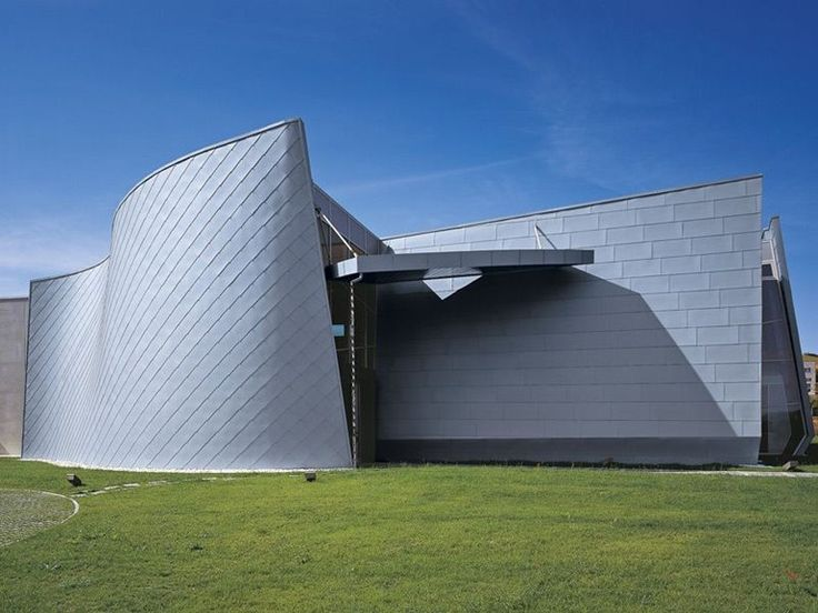 Painel e chapa metálica para fachada de zinco-titânio by RHEINZINK Italia