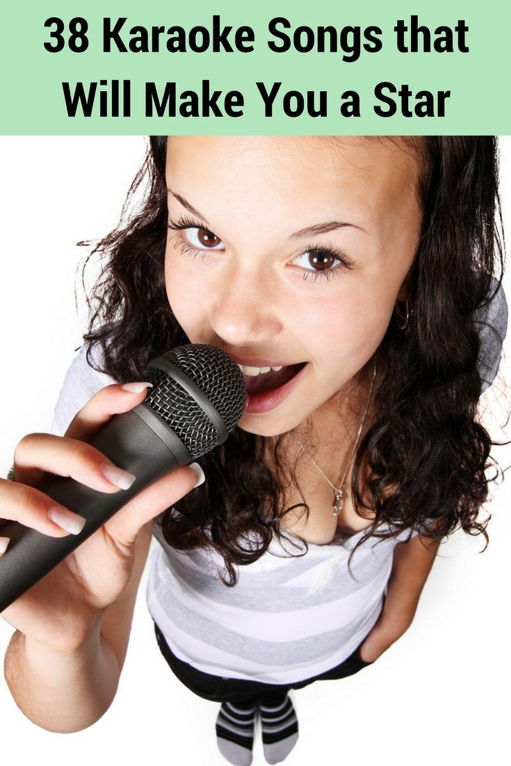 best karaoke songs anyone can sing