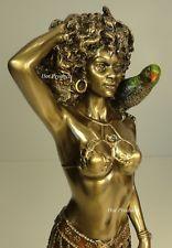 ORISHA OSHUN Goddess of Love Yoruba African Statue Sculpture Antique Bronze Fnsh