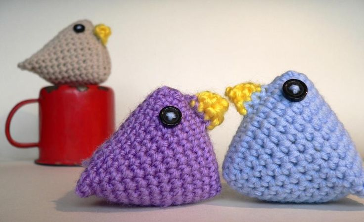 Super Quick Easter Chicks (Crochet Easter Chicks) - Look At What I Made