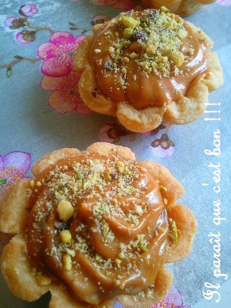 Délice fondant caramel au halwa turc et chocolat | Il paraît que c'est bon !!!