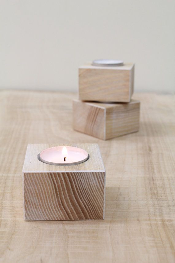 Cozy set of 3 candle holders #etsy  #gifts