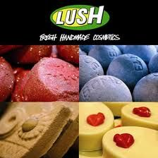 LUSH Cosmetics.  Fresh, handmade and utterly decadent scents.  Try the twilight bathbomb and the Freeze shower gel.