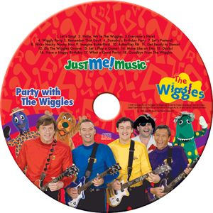 """This personalized Wiggles CD features 18 """"Wiggly"""" tracks where your child's favorite Wiggles characters talk and sing directly to them."""