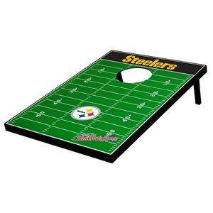 Tailgate Toss Pittsburgh Steelers Football Bean Bag Toss Game