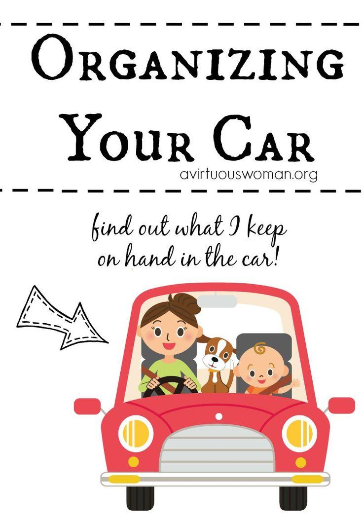 Organizing Your Car @ AVirtuousWoman.org