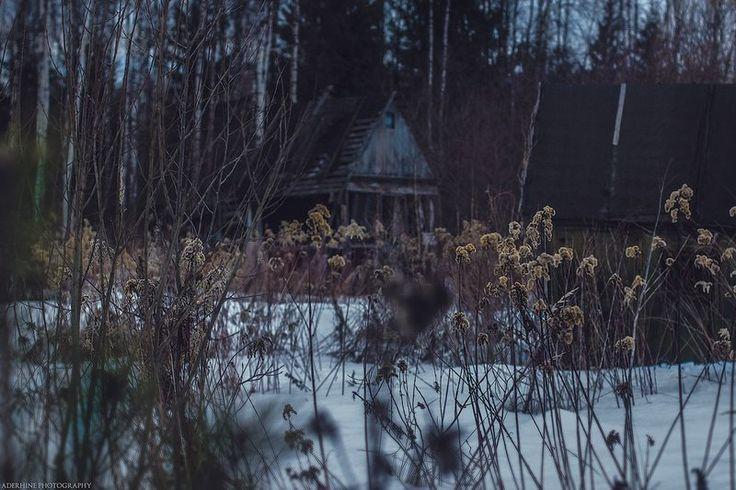 Abandoned village_01 by Aderhine.deviantart.com on @DeviantArt