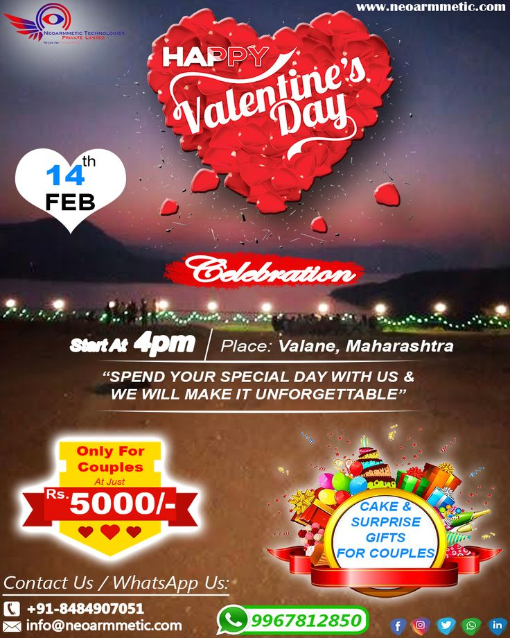 Celebrate your love this Valentine's Day with a special