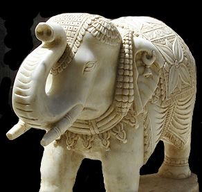 pictures of indian artifacts | Marble Elephant Artifacts Gallery :: The Edge Rock Marble India