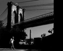 #NewYork (#Brooklyn Bridge), #GabrieleCroppi, Metafisica del Paesaggio Urbano - Photographer Gabriele Croppi succeeds in the intention to silence one of the most chaotic and noisy cities in the world. www.smartraveller.it/2014/02/10/metafisca-metropolitana